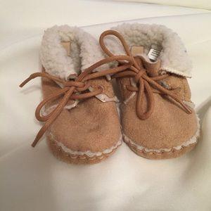 3de80546038d7 Kids  Baby Gap Moccasins on Poshmark
